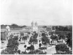Seminário Episcopal na avenida Tiradentes - 1905
