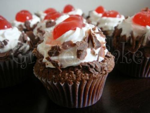 Cupcake Floresta Negra