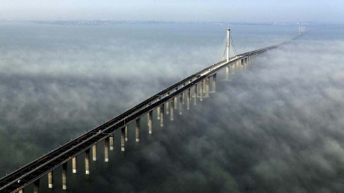 ponte da baía de Jiaodhou