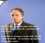 Professor Nelson Valente para Vereador