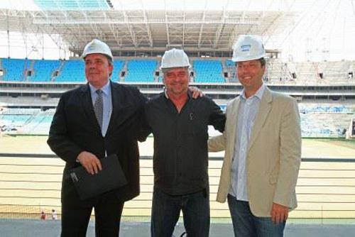 Inauguração Arena