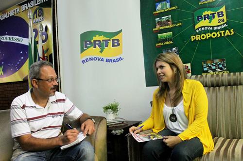 Giba Entrevista a Jovem Candidata Lívia Fidelix