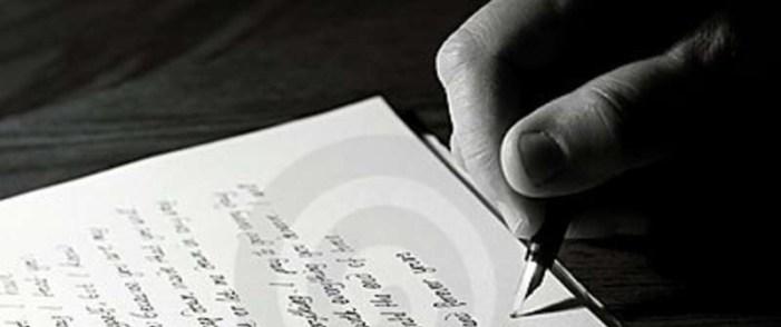 O ato de escrever para uma coluna digital
