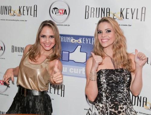 """Bruna & Keyla no """"Oscar"""" da Música Latina 26"""