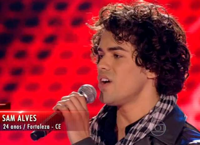 """Sam Alves, a Bola da Vez do """"The Voice"""" 20"""