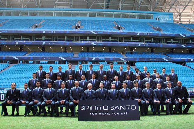 Grêmio oficializa parceria com marca Spírito Santo