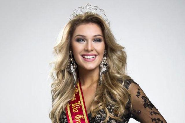 Marina Helms,  Esperança Gaúcha na Conquista do Miss Brasil 2014