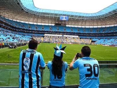 Grêmio da Nova Arena Moderniza-se na Área Virtual