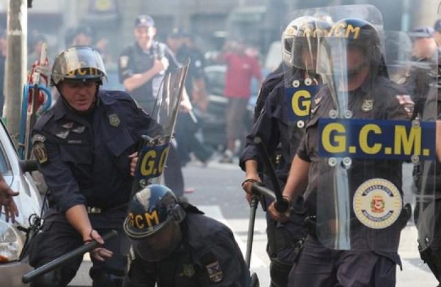 A Policia Metropolitana,mais conhecida comoGuarda Municipal (GM)é ainstituição que pode ser criada pelomunicípiospara colaborar nasegurança pública, utilizando-se do poder de polícia delegado pelo município através de leis complementares