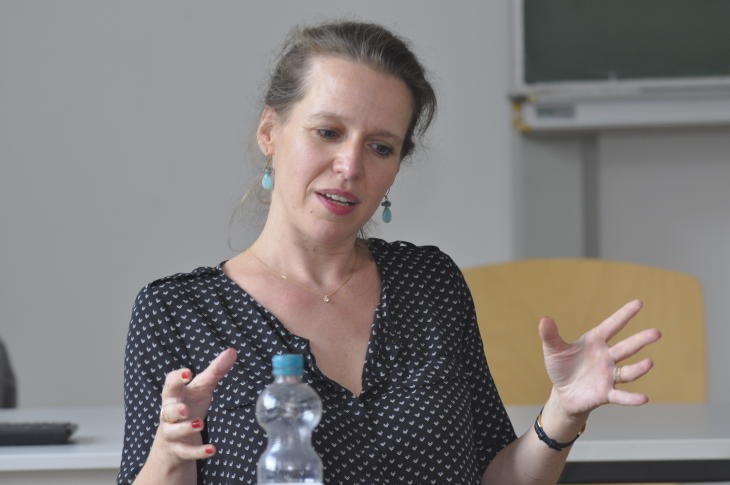 Stefanie Ericke-Keidtel. (Foto: Carsten Vogel)