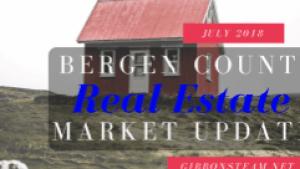 Bergen County Market Update July 2018