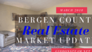 Bergen County Market Update March 2018