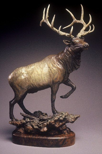 bronze wildlife sculptures for sale