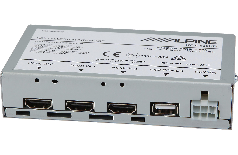 Alpine KCX-630HD HDMI Selector Interface For Alpine Head Units