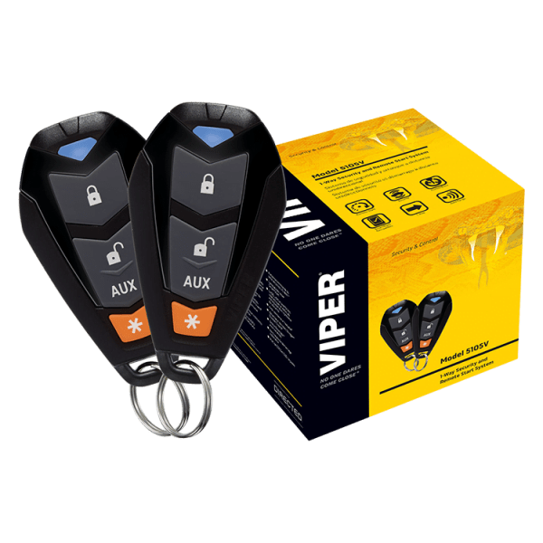 Viper 5204 Security Alarm And Remote Start 2 Way System And Keyless