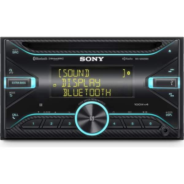 Sony AM FM CD Car Stereo Bluetooth