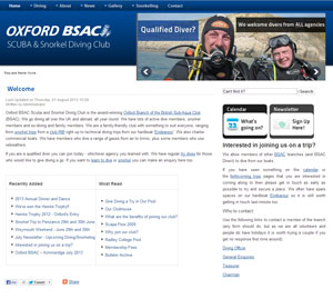 OxfordScubaDivers.com website image