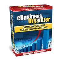 eBusiness Organizer Take control of your Internet business - see results!