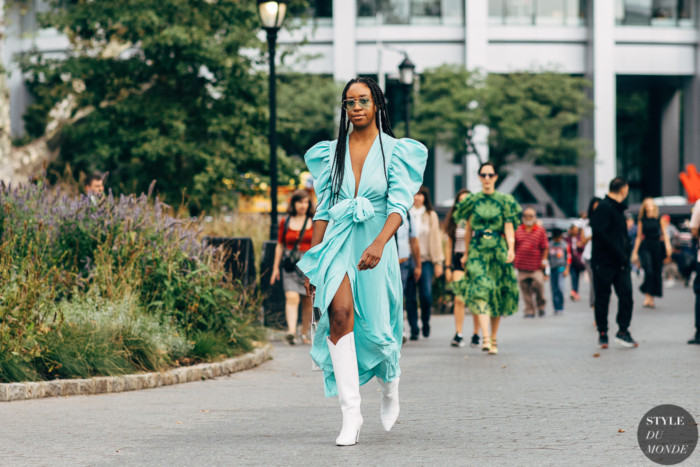 New York SS 2020 Street Style: Chrissy Rutherford