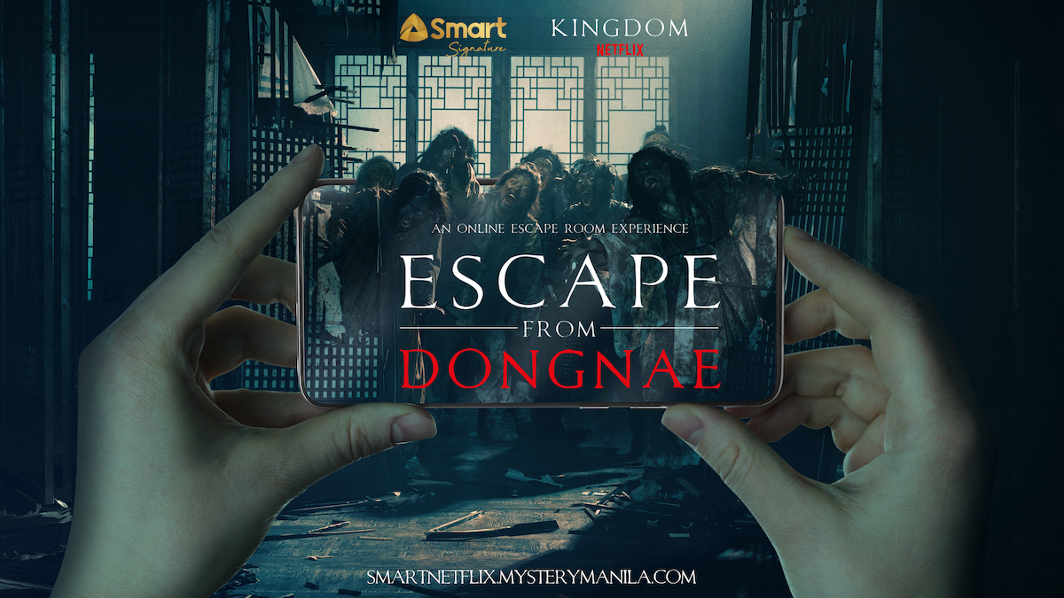 Experience the thrill of Netflix Original series 'Kingdom' with Smart Signature
