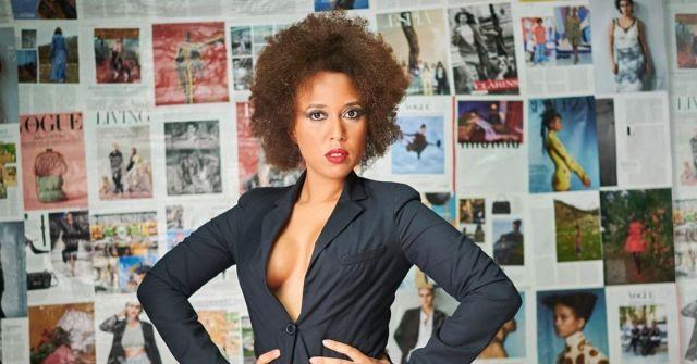 Vogue Background Editorial