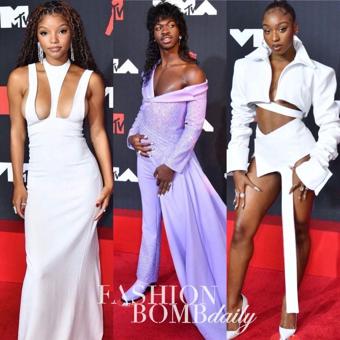 Top 10 Best Dressed at the 2021 MTV Video Music Awards Featuring Lil Nas X in Versace, Normani in Patrycja Pagas, Chloe Bailey in Marni With Halle Bailey in Monot, and More + Other Big Moments
