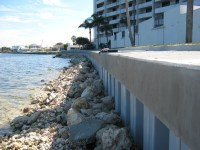 Rip Rap Seawalls in Florida