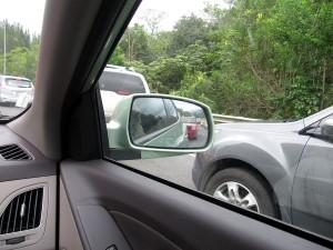 Driving on Oahu