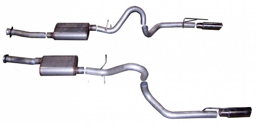 gibson performance exhaust cat back