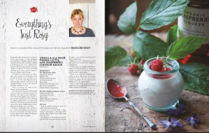 Gibson's Organic Liqueurs recipe suggestion from Crumbs magazine