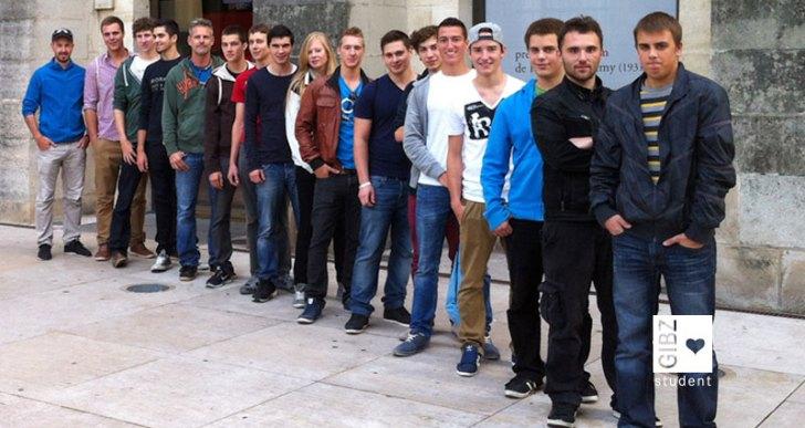 Exkursion nach Paris, Schreinerklasse SR4