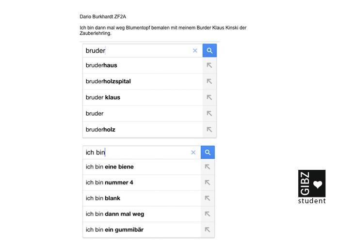 Google-Poesie