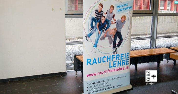 """Projekt """"Rauchfreie Lehre"""" – die Lungenliga Luzern-Zug am GIBZ"""