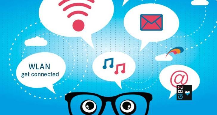 get connected – das WLAN im GIBZ