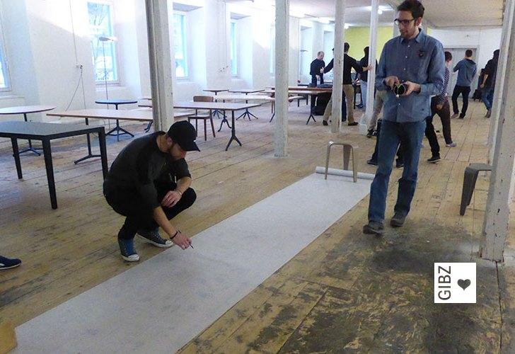 Praxis schnuppern – die HFTG ist bei Horgen Glarus zu Gast
