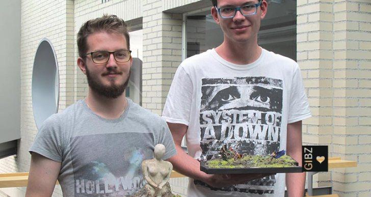 """Sterbende Engel"" & ""Mutter Natur"" : Kunst-Projektarbeiten Zahntechniker ZT3"