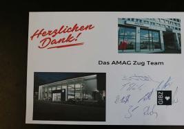Ausbildungsleiter AMAG Cham berichtet