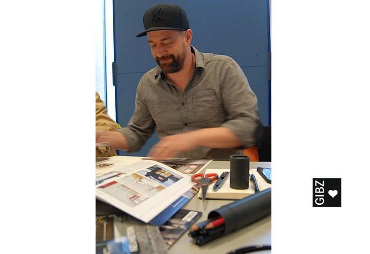 HFTG : Star-Innenarchitekt Jorge Canete zu Besuch im GIBZ