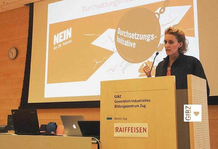 GIBZ im Gespräch: mit Flavia Kleiner Co-Präsidentin, Operation Libero