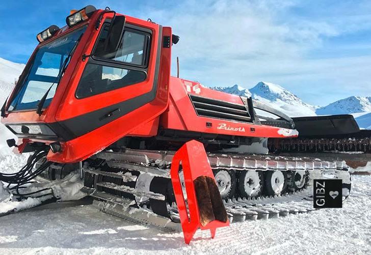 HFTG  Top of the World – Schlittentest in St. Moritz
