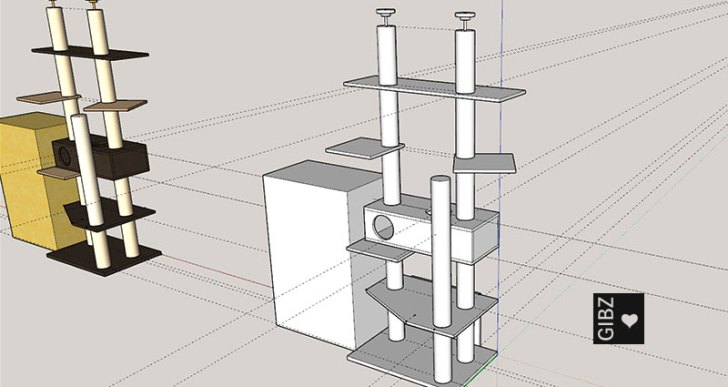 ABU Projektarbeit Elektroniker 3A #1_Katzenbaum