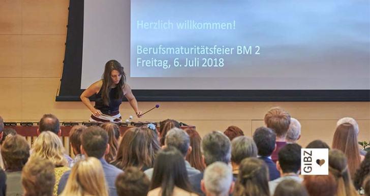 Den eigenen Weg unter die Füsse nehmen – die BM-Feiern 2018 am GIBZ