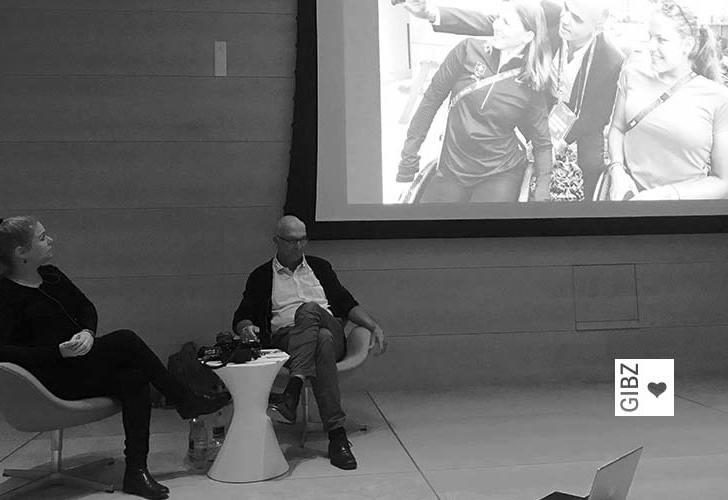 """Bilder, die bewegen – Fotografin Alexandra Wey zu Gast bei """"GIBZ im Gespräch"""""""