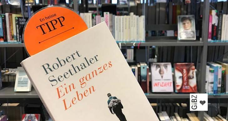 """En heisse Tipp #11 : """"Ein ganzes Leben"""" von Robert Seethaler"""