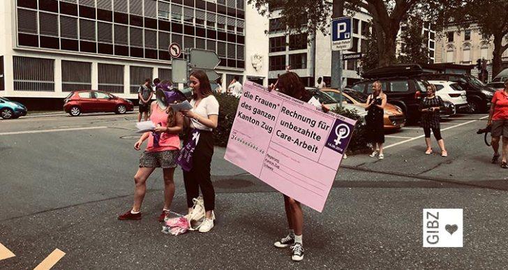 Frauenstreik – für eine starke Pflege