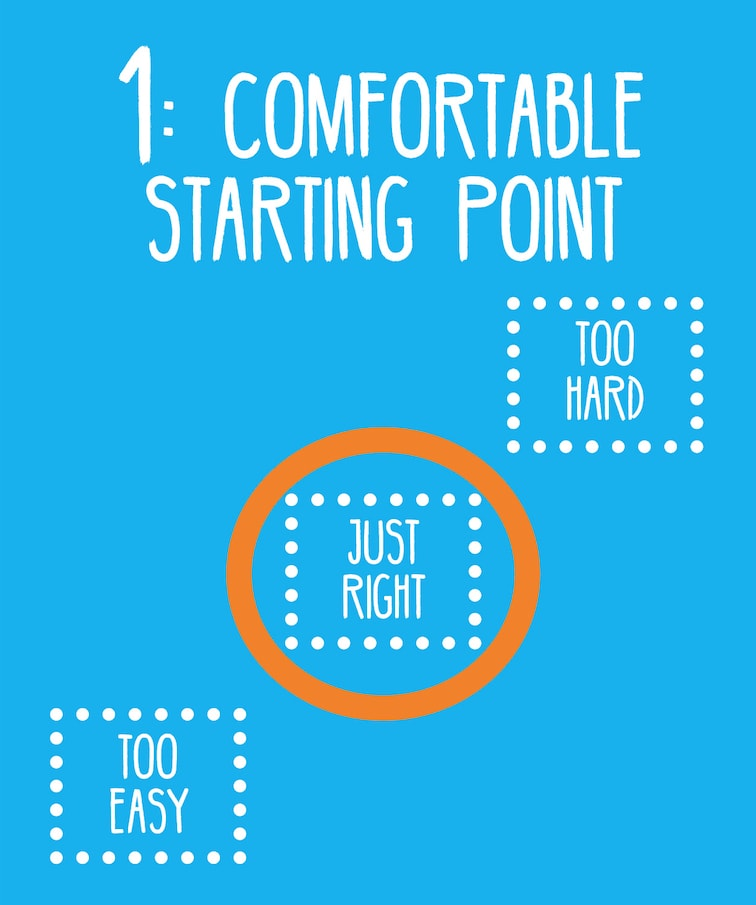 1: Comfortable Starting Point