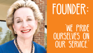 Founder: We pride ourselves on our service.