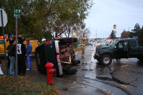 Rollover Accident, Rexburg, ID