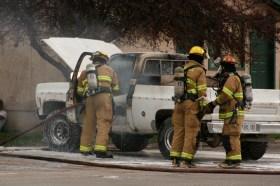 Truck Fire, Logan, UT