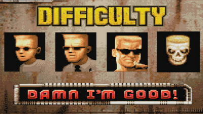 Duke Nuke em difficulty settings